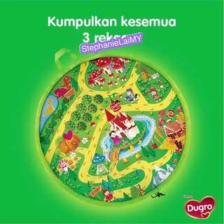 Dugro 2 in 1 (Playmat + Storage Bag) Green