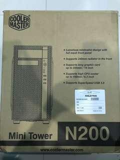 Cooler Master N200 Window Side Panel MicroATX