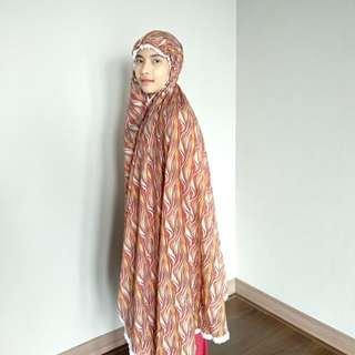 Mukena travel silk