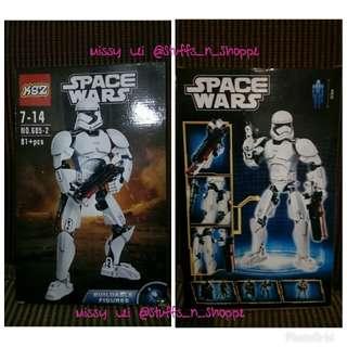 Space Wars Buildable Figures-Star WarsLIKE