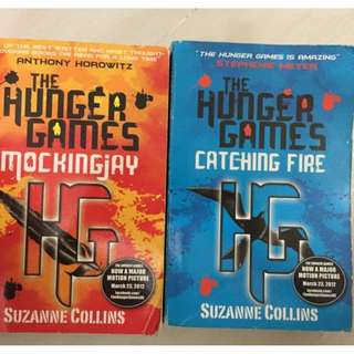 book - hunger games $60 for 2