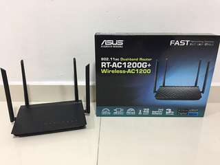 ASUS RT-AC1200G+ Wireless-AC1200 Dual-band Router