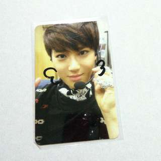 EXO SUHO MAMA A PHOTOCARD 33 IS DRAWN BY SUHO AT MAMA FANSIGN