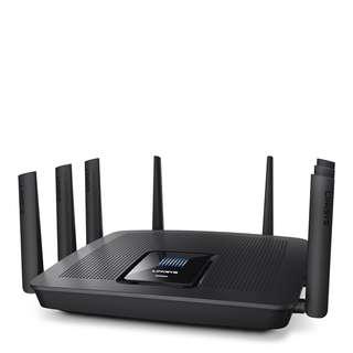 Linksys EA9500 AC5400 Router 三頻 MU-MIMO 頂級 Wi-Fi 無線路由器 (8 x GbE LAN)