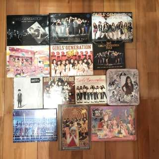 🚚 少女時代 SNSD 韓壓日壓專輯 DVD (防彈 red velvet Twice mamamoo wanna one