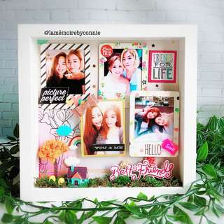 Personalised 3D Photo Frame (Best Friend Forever)