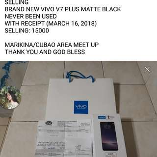 BRAND NEW VIVO V7 PLUS