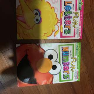 Brand new sesame street activity books x 2