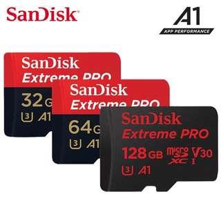 SanDisk Extreme Pro microSDXC 32GB / 64GB