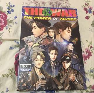 [RUSH SALE] EXO THE POWER OF MUSIC REPACKAGED