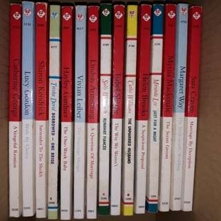 Mills&Boon books assorted
