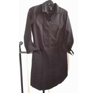 New Look Black Shirt Dress