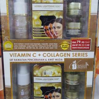 V'asia Vitamin C & Collagen Series