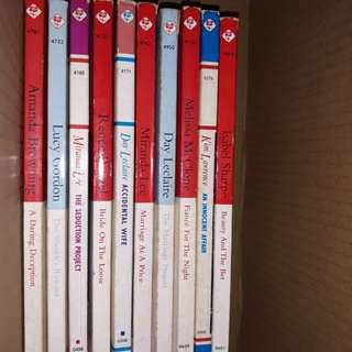 Mills&Boon assorted books