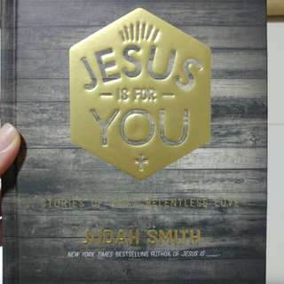 EEUC Jesus is for you Hard cover book