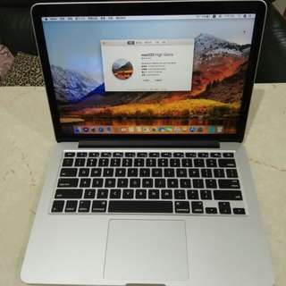 MacBook Pro (Retina, 13-inch, Late 2013) - 512GB SSD 高容量