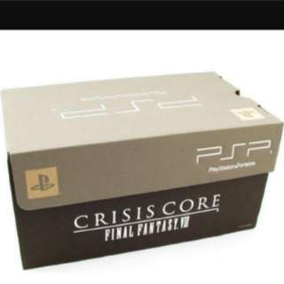 Sony PSP 2000 Crisis Core: Final Fantasy VII Bundle 64MB Silver Handheld System
