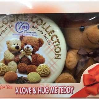🚚 馬來西亞麥斯經典小熊手工餅乾禮盒