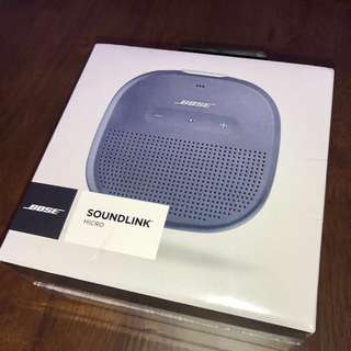 (全新未開封) Bose SoundLink Micro (藍牙喇叭)