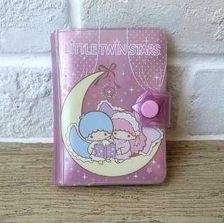 little twin stars namecard holder