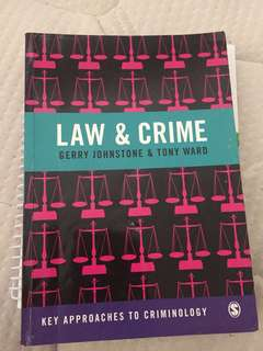 Law and crime textbook