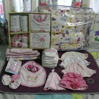 full moon gift set baby girl newborn