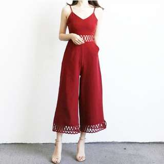 Jumpsuit crosshole