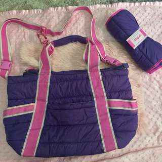 Crocs baby/diaper bag