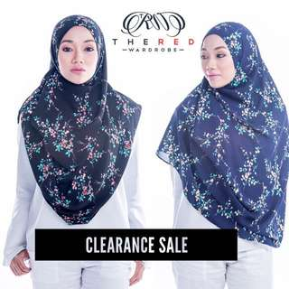 Floral Instant Shawl