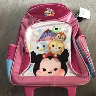 Disney Tsum Tsum Bag with Wheels Children Kids