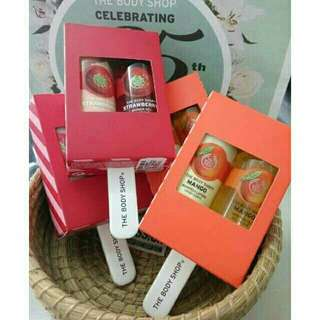 Gift ice lolly strawberry/mango  by The Body Shop Original