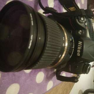 Nikon D7000 with 24-70 mm lens