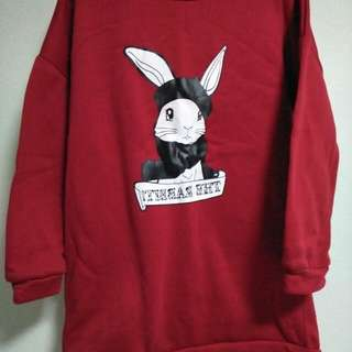 Red Rabbit Pullover