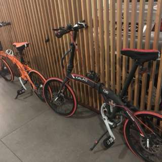 Foldable Kalaq Q6 cycle, used only for 2rides