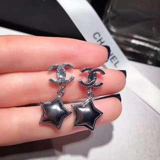 星星 耳環 兩色
