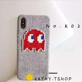 iPhone7/8 Case 絨布食鬼