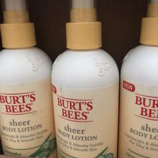 Burt Bee's Lotion