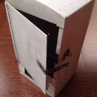 Vintage Metal Letter Box