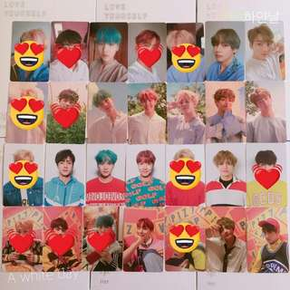 [WTB/LF] BTS Love Yourself Official Photocards