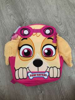 Paw Patrol Skye Back Pack Bag Brand New