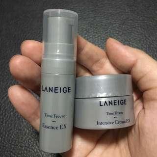 Laneige Time Freeze Essence + Cream