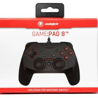 Switch Snakebyte Wired Controller