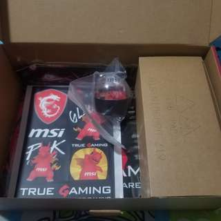 MSI Gaming Mouse Mouse Pad