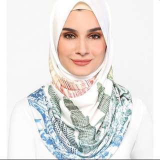 Authentic dUCk The Kuala Lumpur Scarf - Merdeka Edition in Mixed