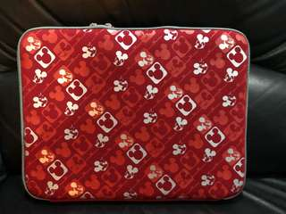 Disney mickey red Laptop Bag