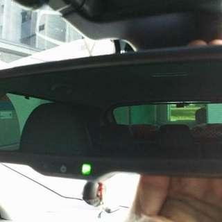 Nissan qashqai j11 anti glare rear view mirror.
