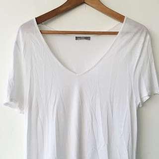 Zara W&B White T Shirt