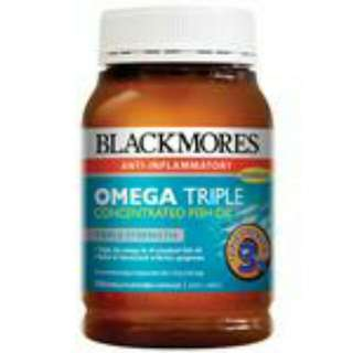 Blackmores Omega Triple Concentrated Fish Oil