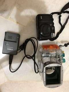 Canon G12 + WP-DC34 waterproof case