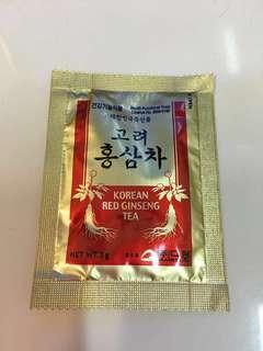 🈹️ (全新) 韓國製紅參茶